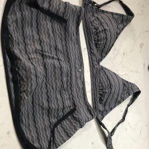 Athleta Swimsuit (Swimskirt and Bikini Top)